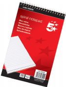 5 Star Office Shorthand Spiral Wirebound Note Pad (300 Pages)